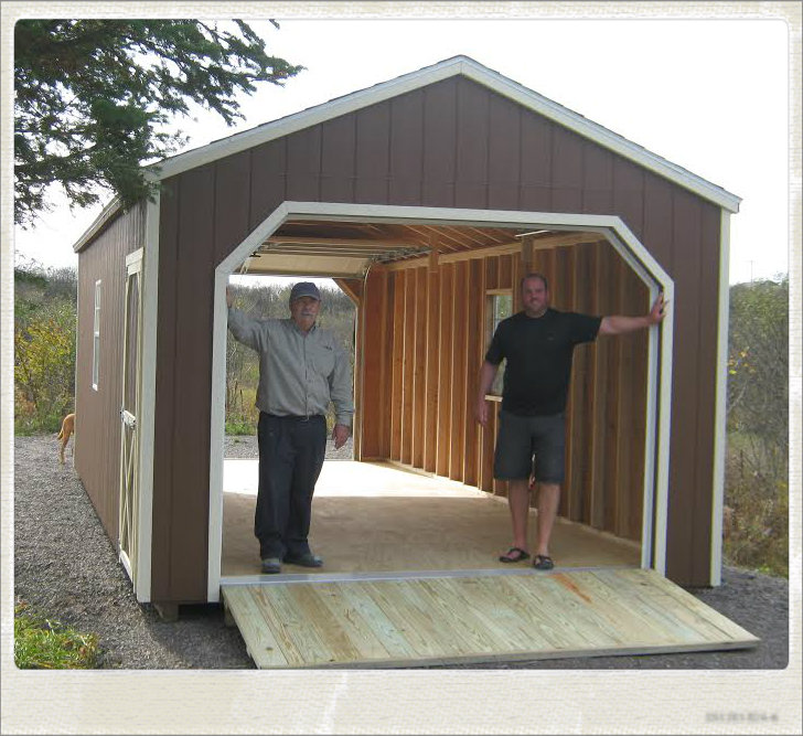 Portable Wooden Garages : Ottawa garden sheds storage buildings