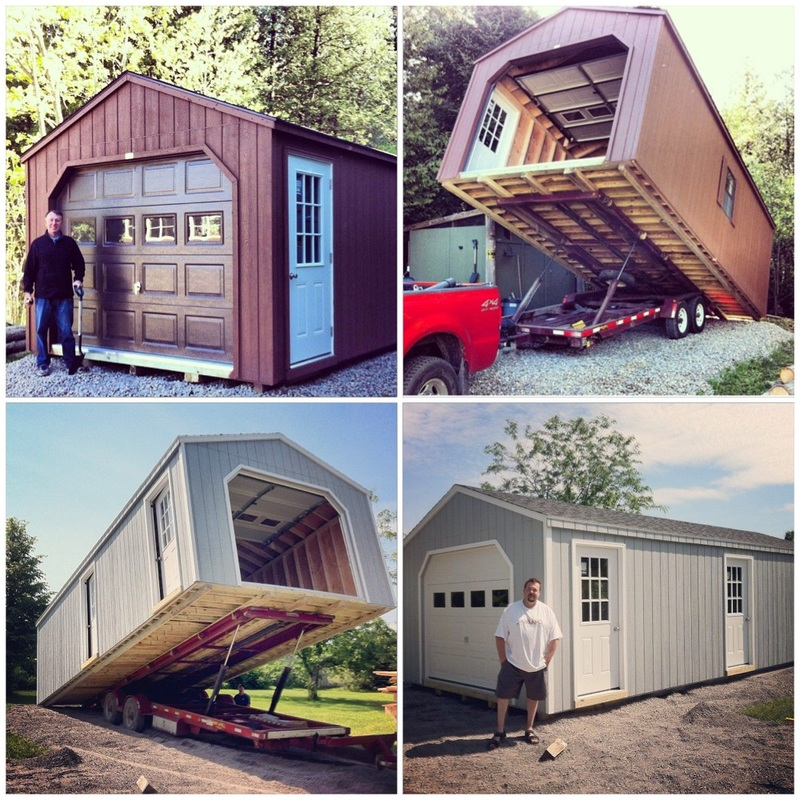 Ottawa garden sheds storage buildings for Prefab garage ontario